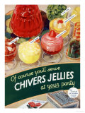 Chivers Jelly, UK, 1930 Poster
