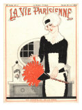 La Vie Parisienne, Erotica Glamour Art Deco Cleaning Products Magazine, France, 1925 Prints