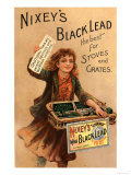Nixey's, Black Lead Products, UK, 1890 Giclee Print