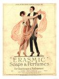 Erasmic-saippuahajuvesi, iltapukutanssijaiset, Iso-Britannia, 1920 Giclée-vedos