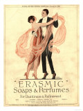 Erasmic Soap Perfume, Evening-Dress Dancing, UK, 1920 Foto