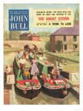 John Bull, Holiday Narrow Boats Canals Houseboats Magazine, UK, 1950 Prints