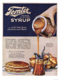 Temtor, Maple Flavoured Syrup, USA, 1920 Print