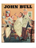 John Bull, Barbers Mens Radios Magazine, UK, 1950 Prints