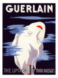 Guerlain, Guerlain Lipstick Make-Up, UK, 1938 Giclee Print