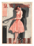 La Vie Parisienne, Erotica Glamour Womens Art Deco Cooking Magazine, France, 1926 Giclee Print