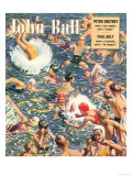 John Bull, Swimming Magazine, UK, 1949 Prints