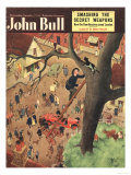 John Bull, Firemen Heroes Magazine, UK, 1950 Prints