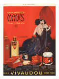 Make-Up Womens Skincare, USA, 1920 Giclee Print