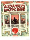 Sheet Music Jazz Irvin Berlin Alexanders Ragtime Band, USA, 1920 Prints