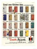 Refrigerators, USA, 1953 Giclee Print