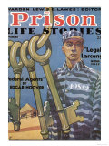 Prison Life Stories, Convicts Prisons Magazine, USA, 1920 Art