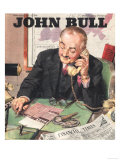 John Bull, Financial Times Magazine, UK, 1946 Prints