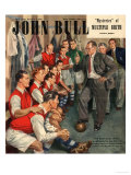 John Bull, Arsenal Football Team Changing Rooms Magazine, UK, 1947 Giclée-tryk