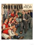 John Bull, Arsenal Football Team Changing Rooms Magazine, UK, 1947 - Giclee Baskı