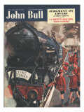 John Bull, The Flying Scotsman, Trains Stations Magazine, UK, 1951 Prints