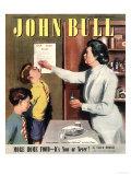 John Bull, Taking Giving Medicine Schools Nurses Matrons Magazine, UK, 1947 Prints