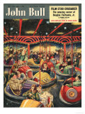 John Bull, Fairgrounds Funfairs Dodgems Magazine, UK, 1950 Posters