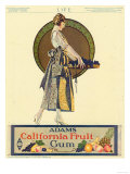 Adams California Fruit Gum, Chewing Gum Sweets Coles Phillips, USA, 1920 Prints