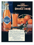 Orange-Crush, Oranges, USA, 1920 Giclee Print