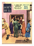 John Bull, Art Museums, Art Galleries Magazine, UK, 1950 Posters