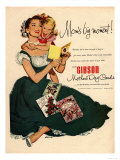 Mother's Day Cards, USA, 1940 Prints