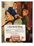 Baby Ruth, Chocolate Sweets, USA, 1927 Art