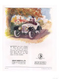 Dunlop, Tires, UK, 1919 Art
