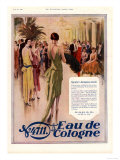 Women's Art Deco Eau De Cologne, UK, 1928 Giclee Print