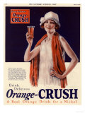 Orange Crush, USA, 1920 Giclee Print