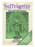 The Suffragettes, Suffragettes Womens Rights Votes For Women Magazine, UK, 1913 Giclee Print