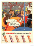 Spangles, Sweets, UK, 1950 Posters