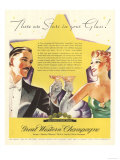 Great Western, Champagne Alcohol, USA, 1930 Prints