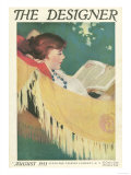 The Designer, Reading Hammocks Magazine, UK, 1915 Giclee Print