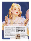 Tangee, Make-Up, USA, 1930 Giclee Print