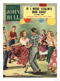 John Bull, Country Square Party Magazine, UK, 1950 Prints