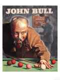 John Bull, Snooker Billiards Pipes Games Magazine, UK, 1946 Giclee Print
