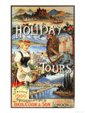 Cook's, Tour Operators Thomas Cook Company, UK, 1890 Giclee Print