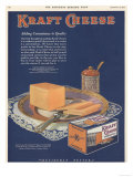 Kraft, Cheese, USA, 1925 Giclee Print