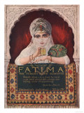 Fatima, Turkish, USA, 1914 Giclee Print