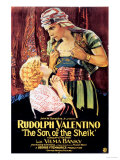 The Son Of The Sheik, Rudolph Valentino, USA, 1926 Poster