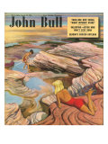 John Bull, Holiday Rock Pool Exploration Magazine, UK, 1949 Prints