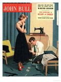 John Bull, Repairing Mending Alterations Womens Magazine, UK, 1955 Posters