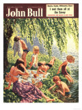 John Bull, Picnics Magazine, UK, 1951 Prints