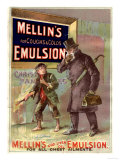 Mellin's Emulsion Coughs, Colds and Flu Medicine, UK, 1890 Giclee Print