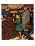John Bull, Banks Post Office Magazine, UK, 1940 Giclee Print