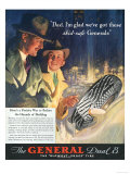 The General, Tires, USA, 1930 Giclee Print