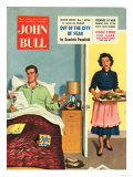 John Bull, Breakfast in Bed Father's Day Magazine, UK, 1950 Posters