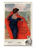 Sunburn Windburn Hinds Cream Skin Care Skincare, UK, 1920 Giclee Print