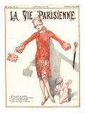La Vie Parisienne, Erotica Glamour Cupids Art Deco Womens Magazine, France, 1927 Giclee Print